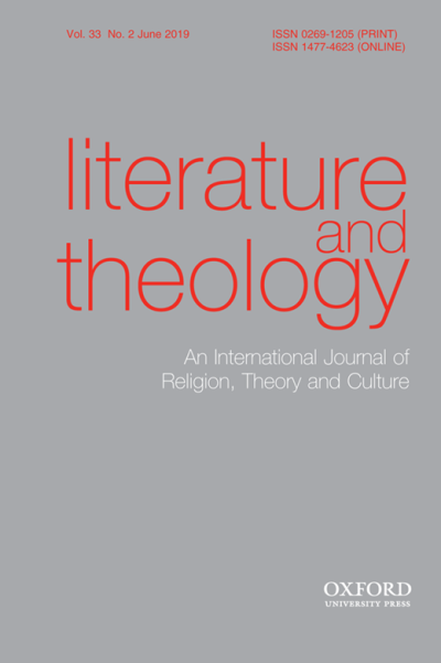 literature and theology journal cover